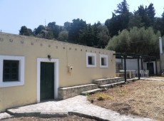 Plot and Detached House for Sale in Asomatos, Kos.